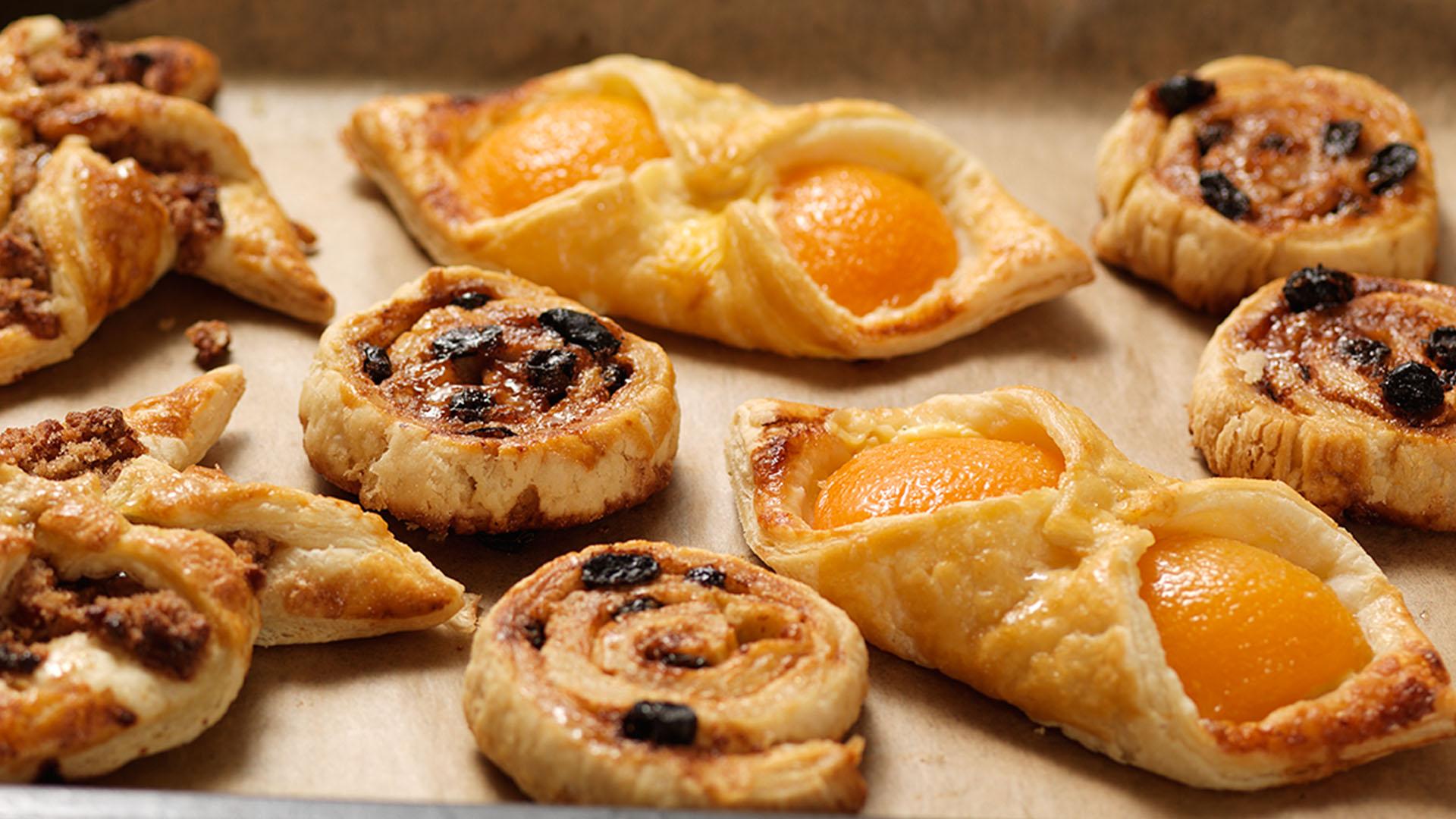 Gluten Free Apricot Custard Danish Pastry Recipe - How to Make Gluten Free Pastry