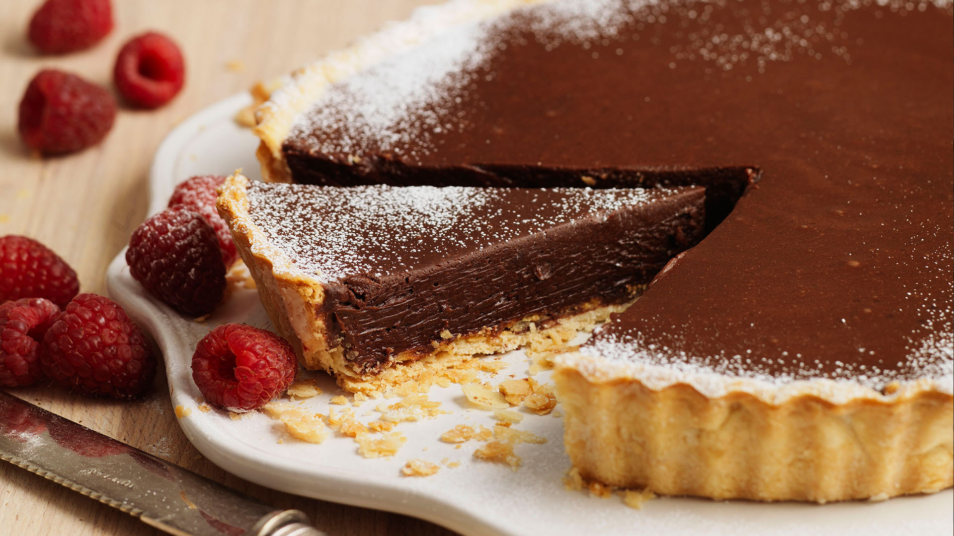 Chocolate Tart | Recipes | Genius Gluten Free