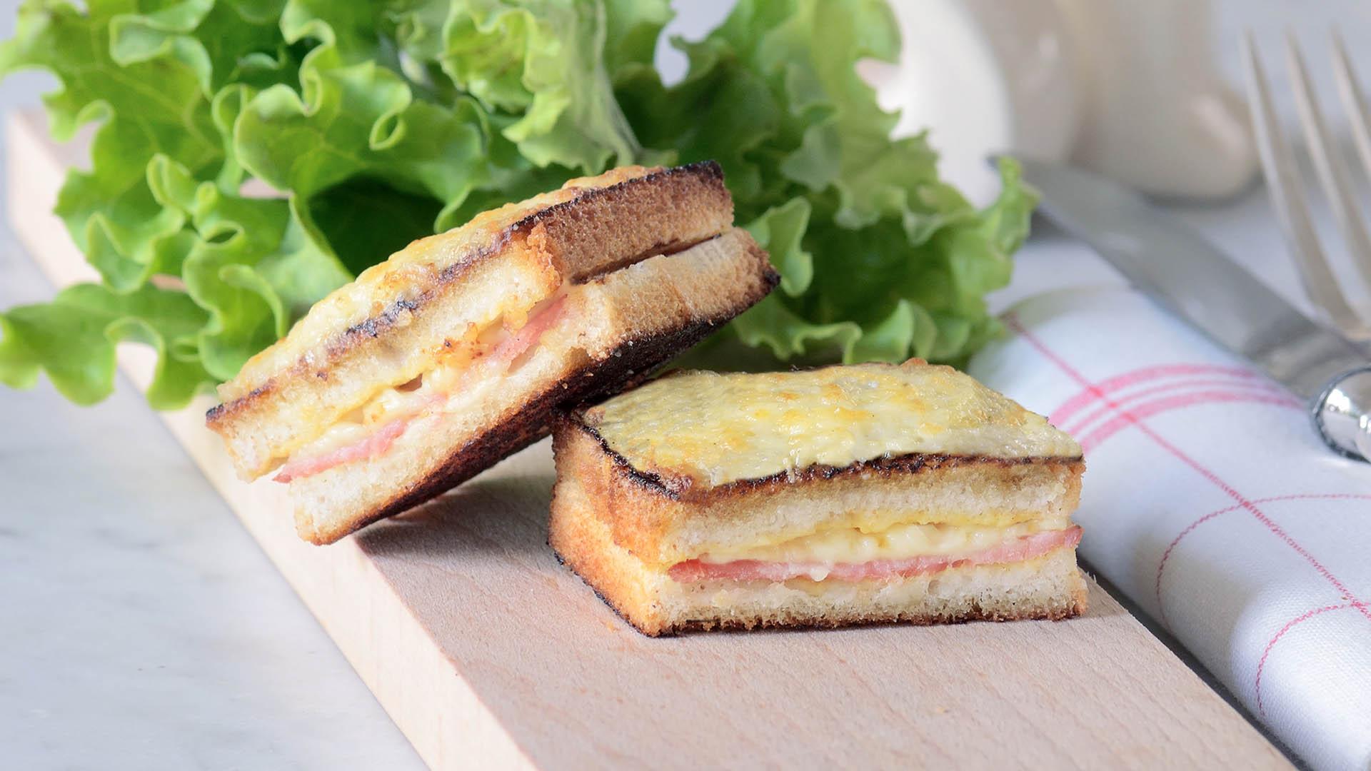 Croque monsieur recettes genius gluten free - Sachet cuisson croque monsieur grille pain ...